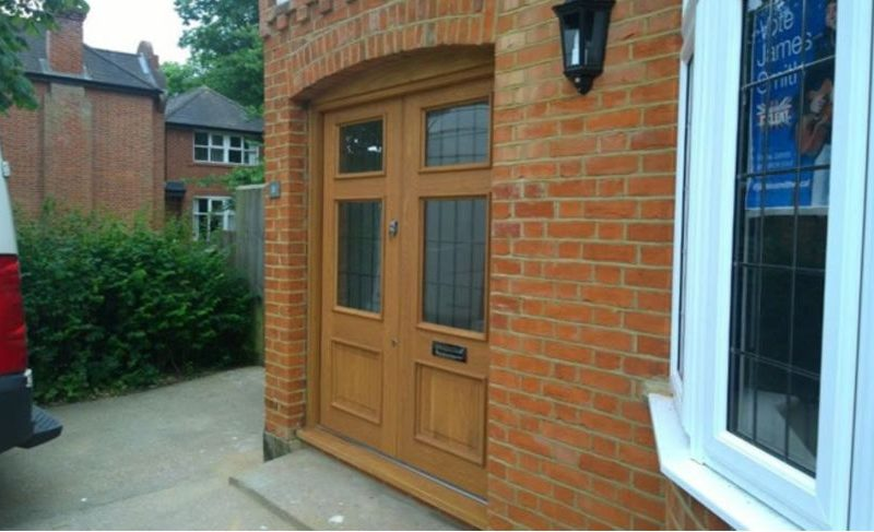 Hornchurch Essex, Bespoke Double Door and Frame