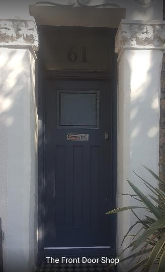Our new bespoke front door